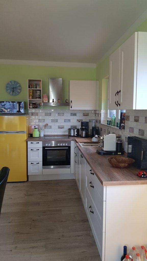 Große Wohnung Küchenzeile