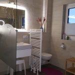 Bad mit Dusche kleine Wohnung